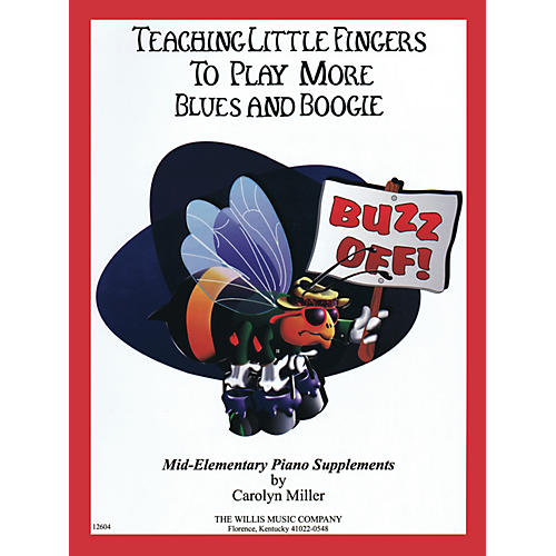 Willis Music Teaching Little Fingers to Play More Blues and Boogie - Willis Book by Carolyn Miller (Level Mid-Elem) thumbnail