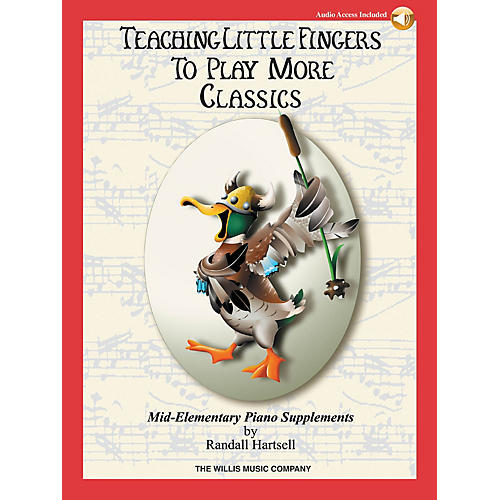 Willis Music Teaching Little Fingers to Play More Classics Willis Series Book Audio Online by Various (Level Mid-Elem) thumbnail
