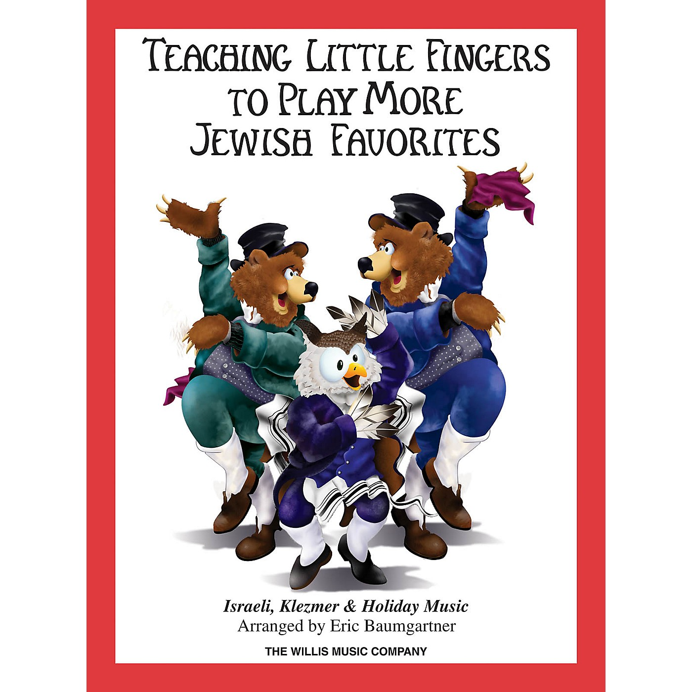 Willis Music Teaching Little Fingers to Play More Jewish Favorites Willis Series Softcover thumbnail