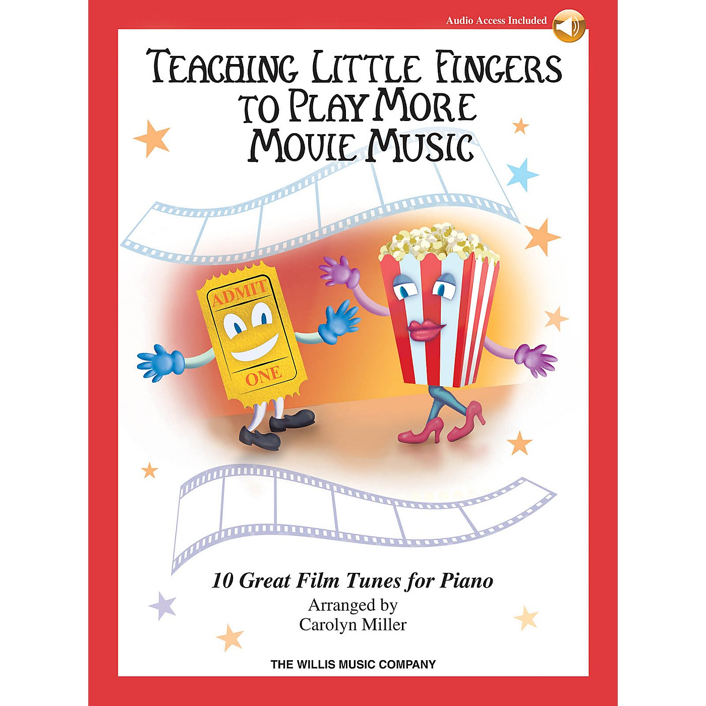 Willis Music Teaching Little Fingers to Play More Movie Music Willis Series Book Audio Online (Level Late Elem) thumbnail