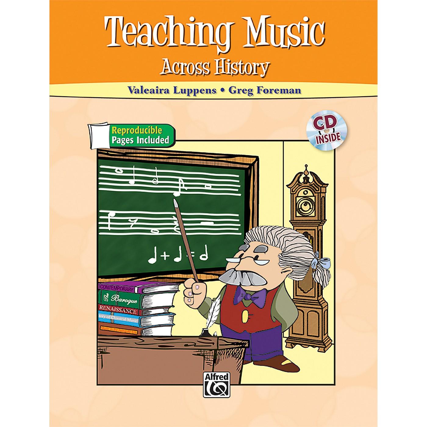 Alfred Teaching Music Across History Book & CD thumbnail