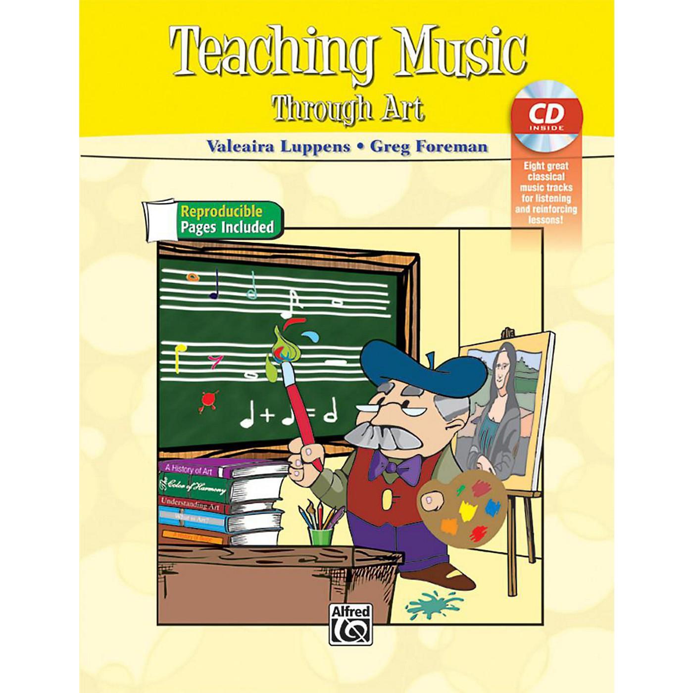 Alfred Teaching Music Through Art Book & CD thumbnail