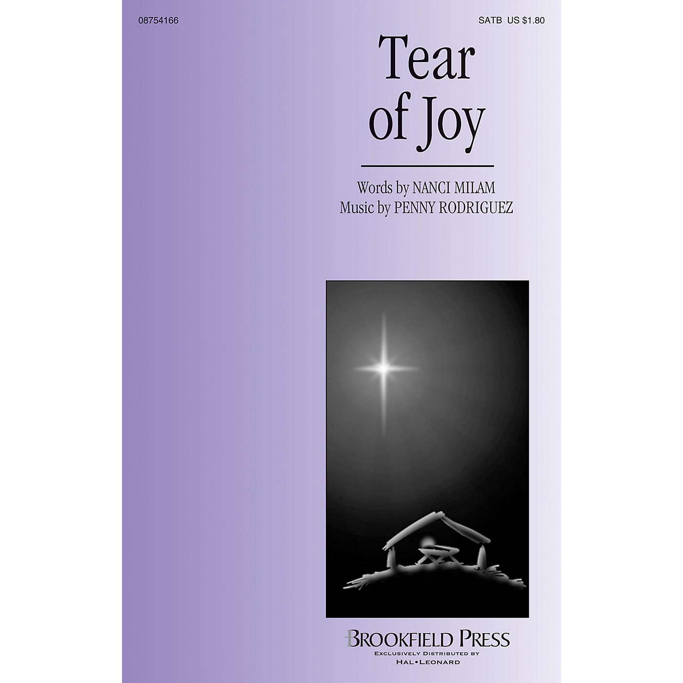 Brookfield Tear of Joy SATB composed by Penny Rodriguez thumbnail