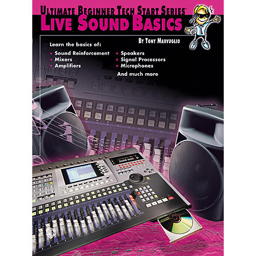 Alfred Tech Start Live Sound Basics Book thumbnail