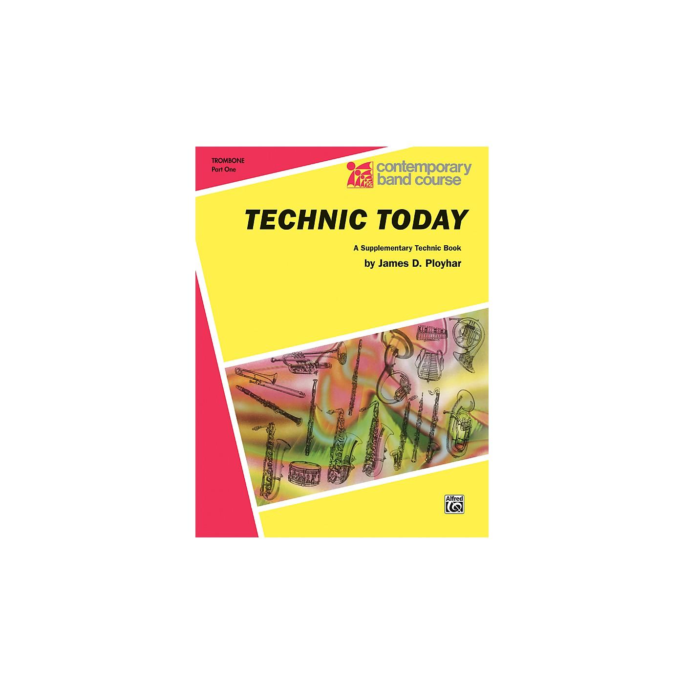 Alfred Technic Today Part 1 Trombone thumbnail