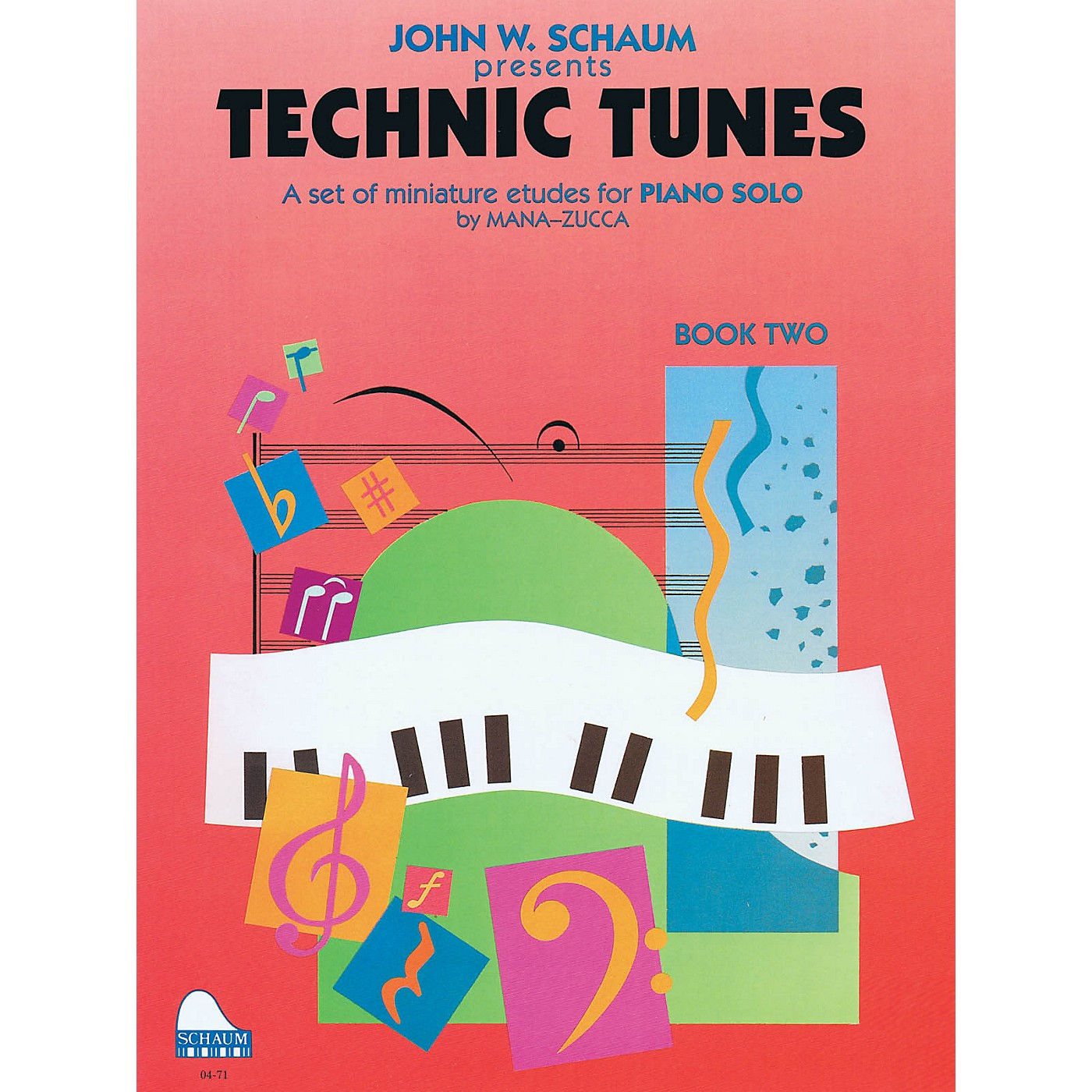 SCHAUM Technic Tunes, Bk 2 Educational Piano Series Softcover thumbnail
