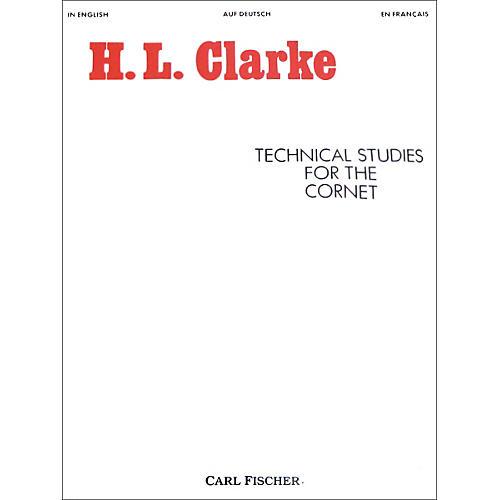 Carl Fischer Technical Studies for the Cornet thumbnail