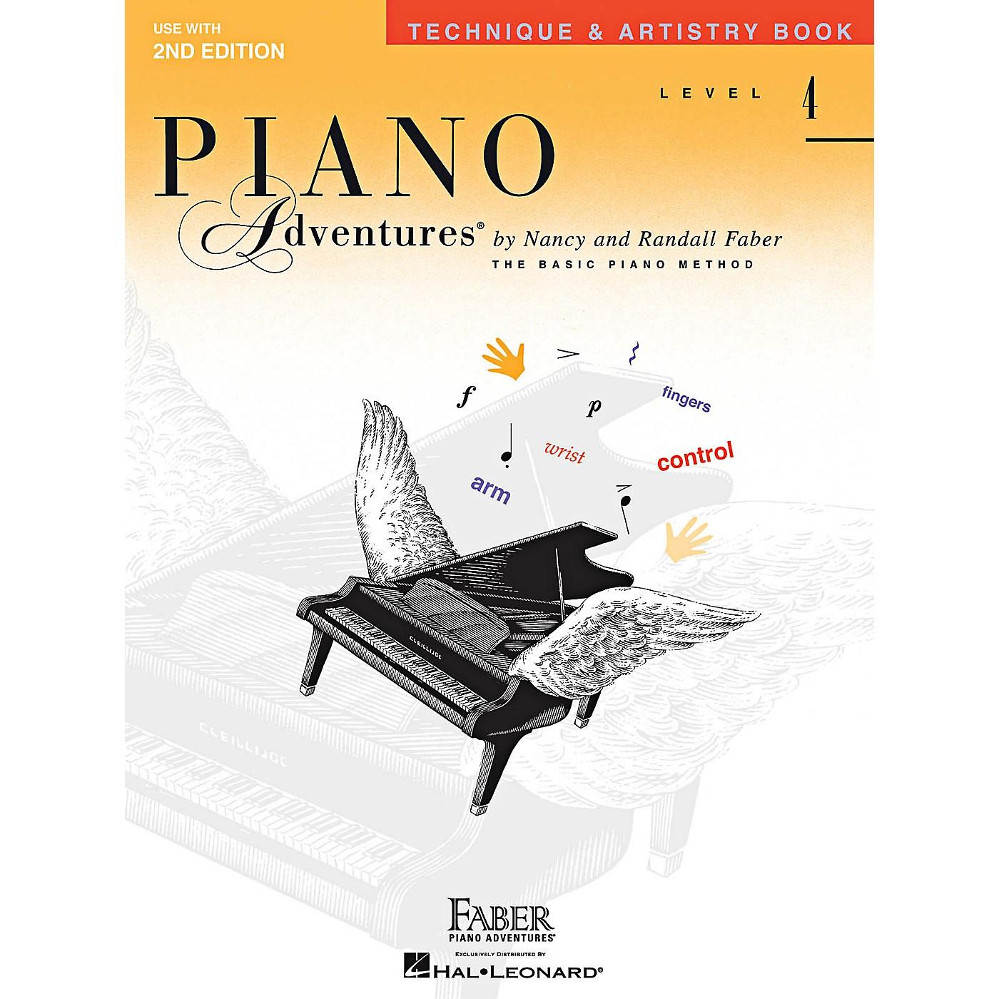 Faber Piano Adventures Technique & Artistry Level 4 Faber Piano Adventures Second Edition Book thumbnail