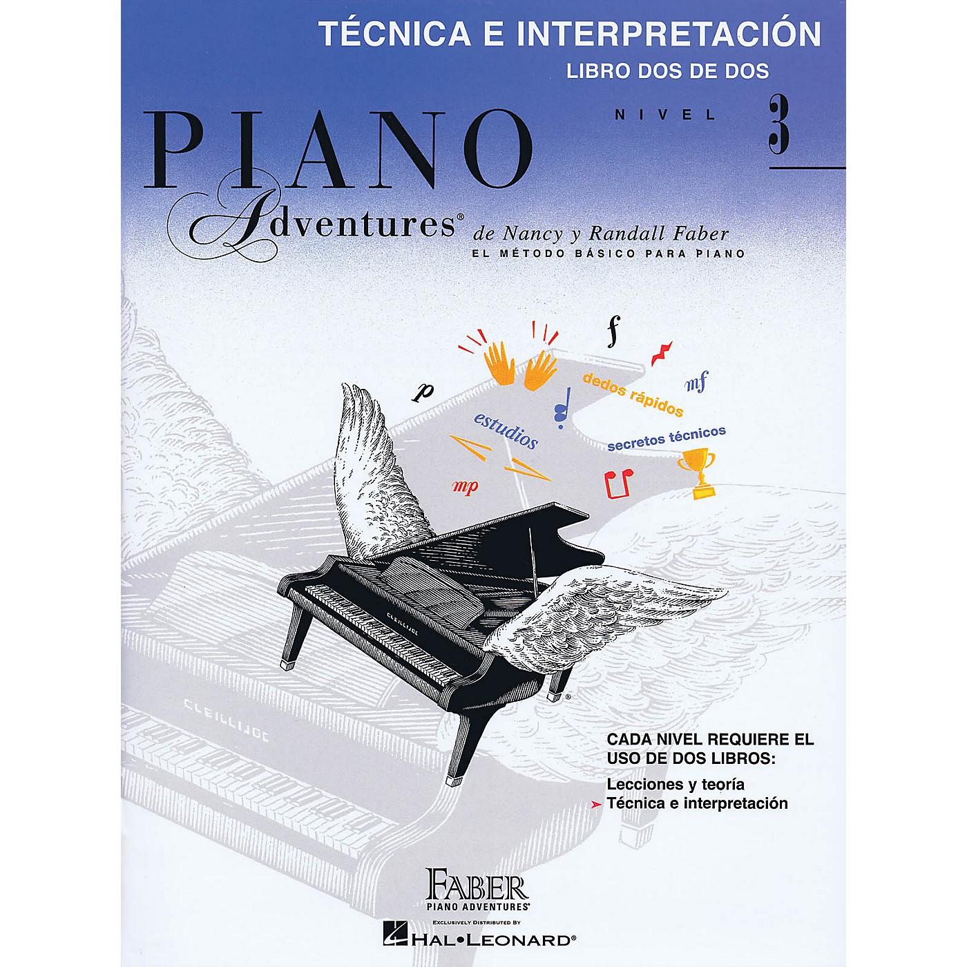 Faber Piano Adventures Tecnica E Interpretacion Libro Dos De Dos - Nivel 3 Faber Piano Adventures Softcover by Nancy Faber thumbnail