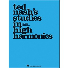 Hal Leonard Ted Nash's Studies In High Harmonics for Tenor And Alto Saxophone