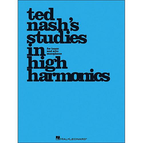 Hal Leonard Ted Nash's Studies In High Harmonics for Tenor And Alto Saxophone thumbnail