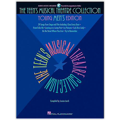 Hal Leonard Teen's Musical Theatre Collection - Young Men's Edition (Book/Online Audio) thumbnail