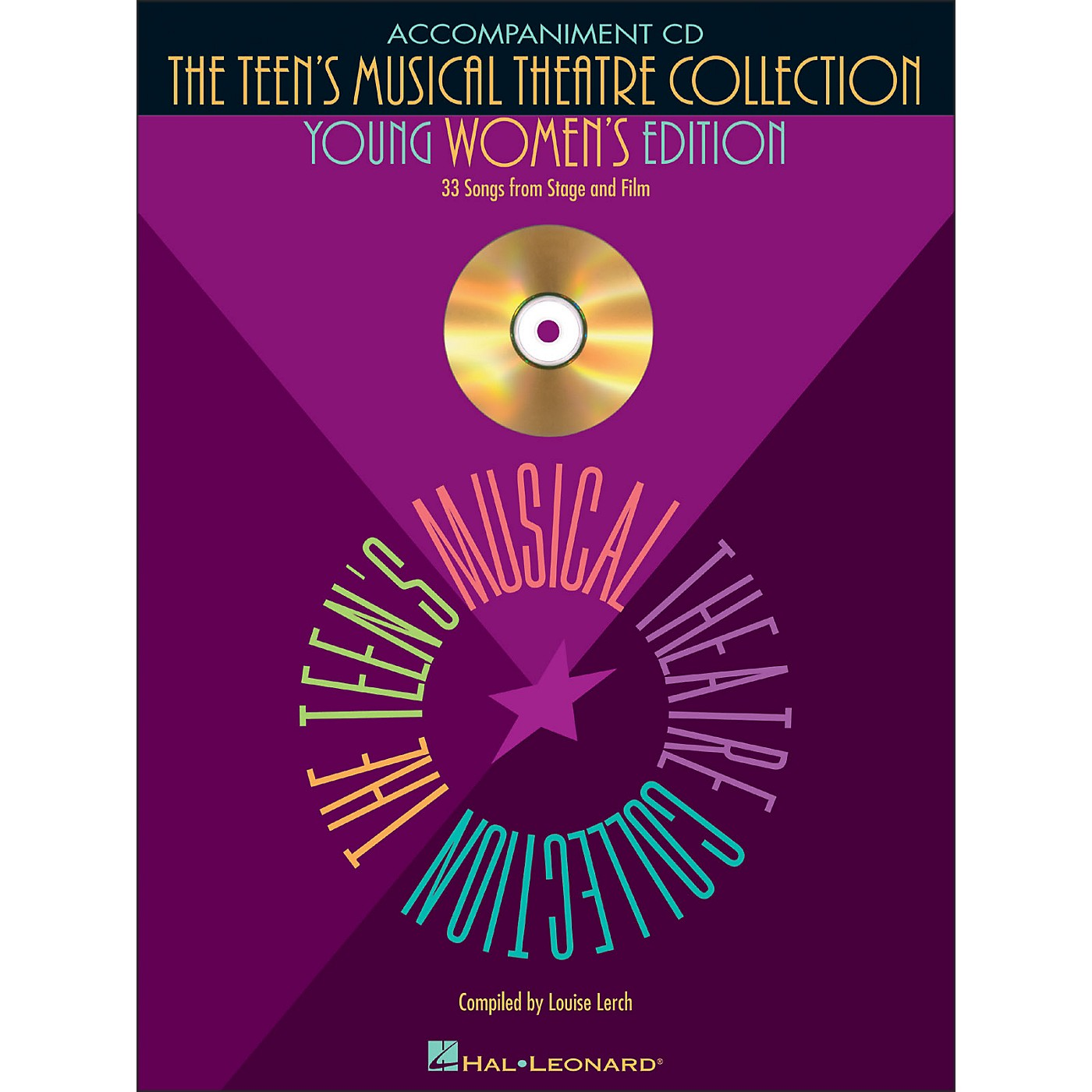 Hal Leonard Teen's Musical Theatre Collection (Young Women's Edition) Accompaniment CD thumbnail