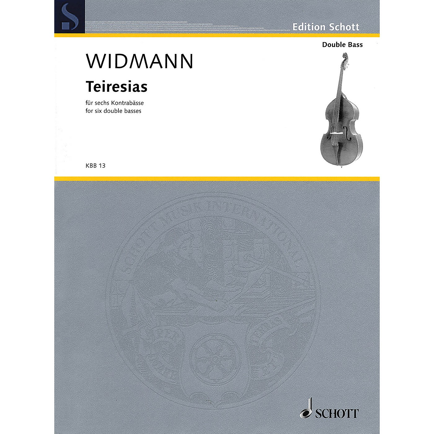 Hal Leonard Teiresias (Score and Parts) Schott Series Softcover Composed by Jörg Widmann thumbnail