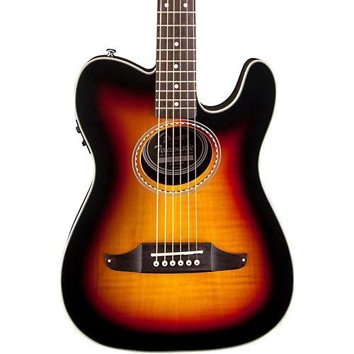 Fender Telecoustic Premier Flame Maple Acoustic-Electric Guitar thumbnail
