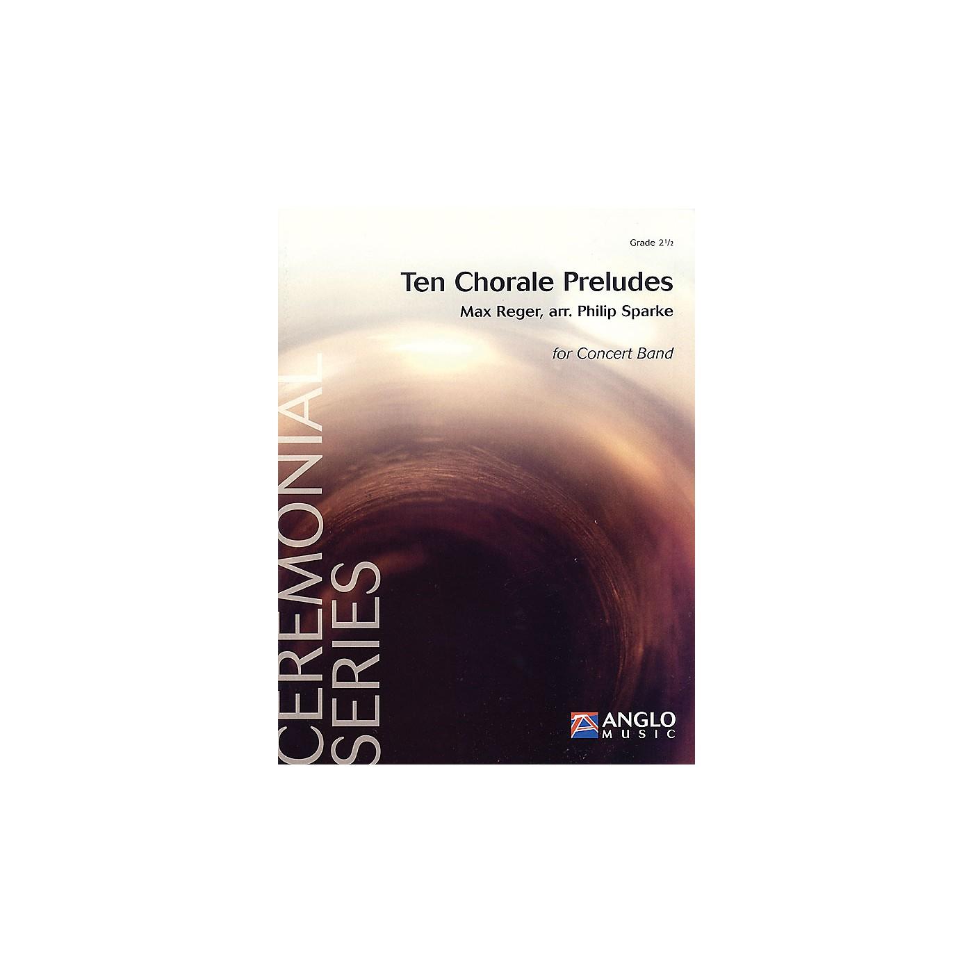 De Haske Music Ten Chorale Preludes (Grade 2.5 - Score and Parts) Concert Band Level 2.5 Arranged by Philip Sparke thumbnail