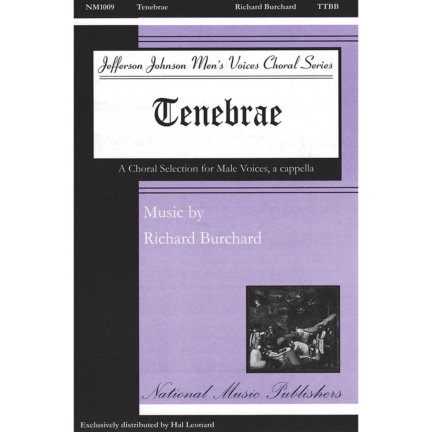 National Music Publishers Tenebrae TTBB composed by Richard Burchard thumbnail