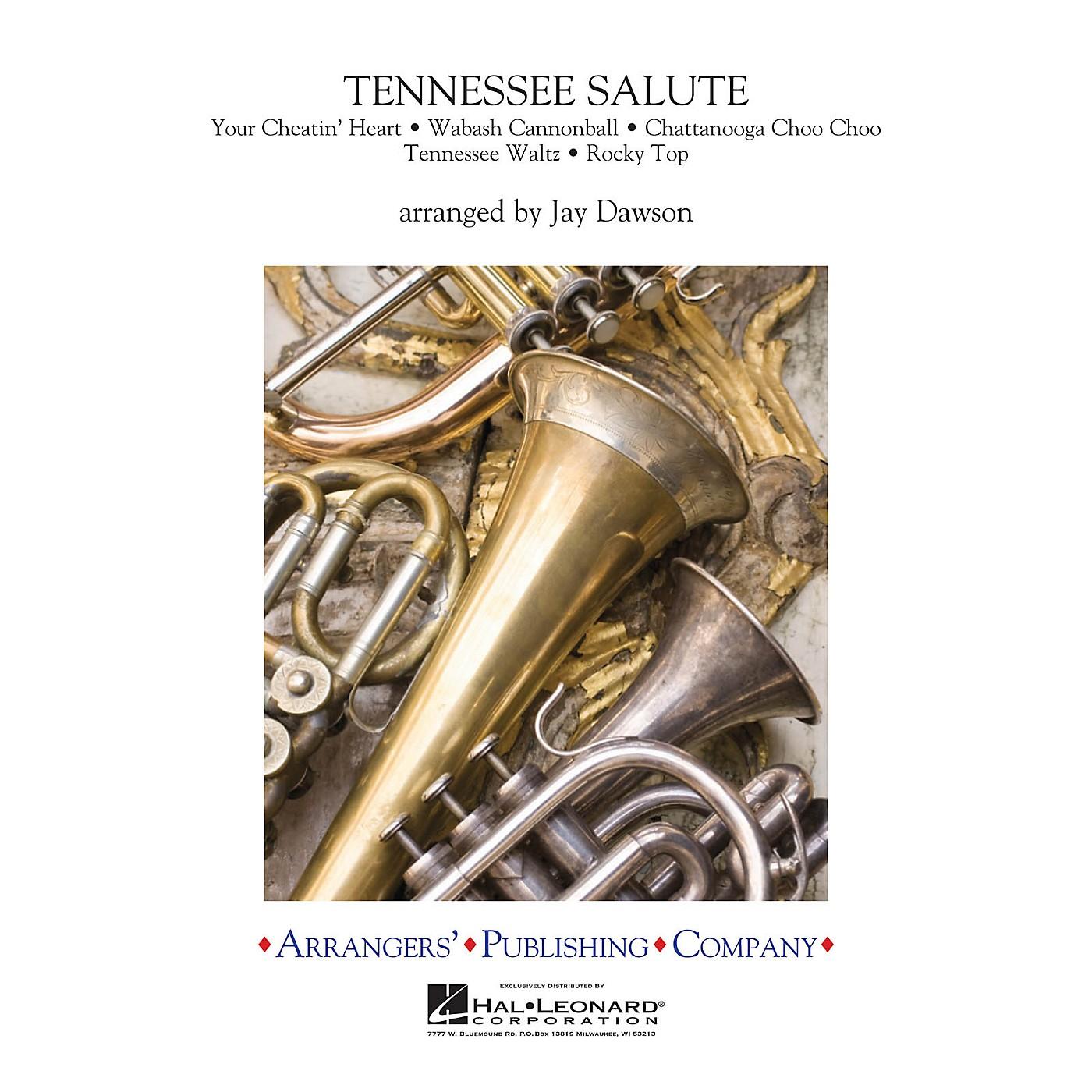 Arrangers Tennessee Salute Full Score Concert Band thumbnail