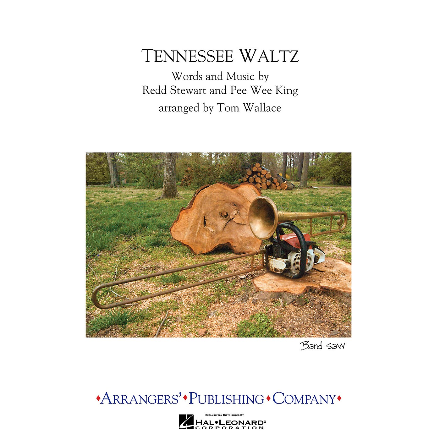 Arrangers Tennessee Waltz Marching Band Level 3 Arranged by Tom Wallace thumbnail