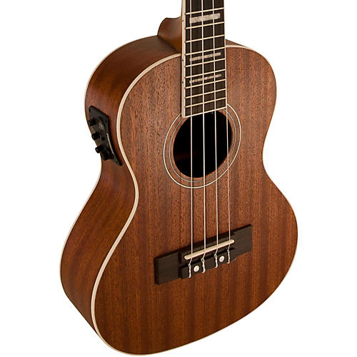 Lanikai Tenor All-Mahogany Acoustic-Electric Ukulele with USB thumbnail