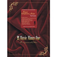 Music Minus One Tenor Oratorio Arias Music Minus One Series Softcover with CD  by Various