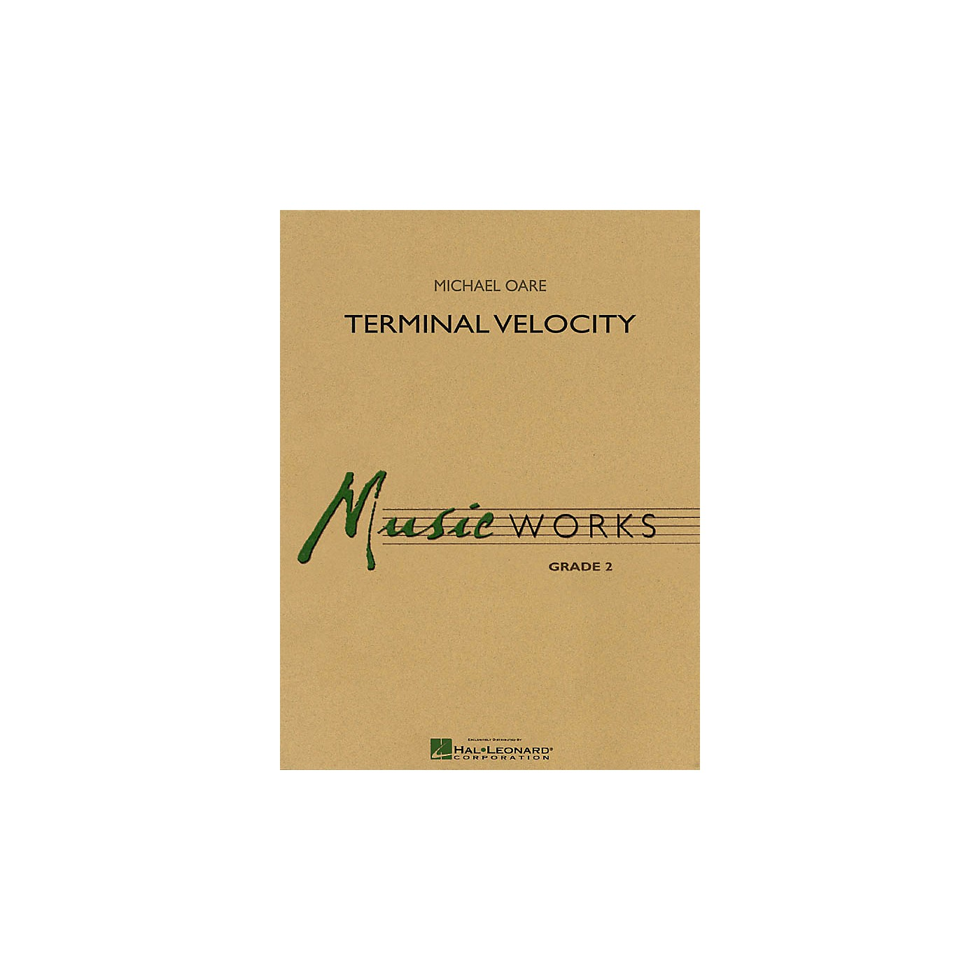 Hal Leonard Terminal Velocity Concert Band Level 2 Composed by Michael Oare thumbnail