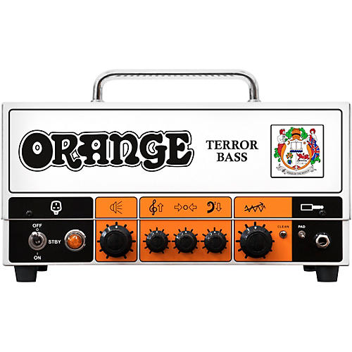 Orange Amplifiers Terror Bass 500W Tube Hybrid Bass Amp Head thumbnail