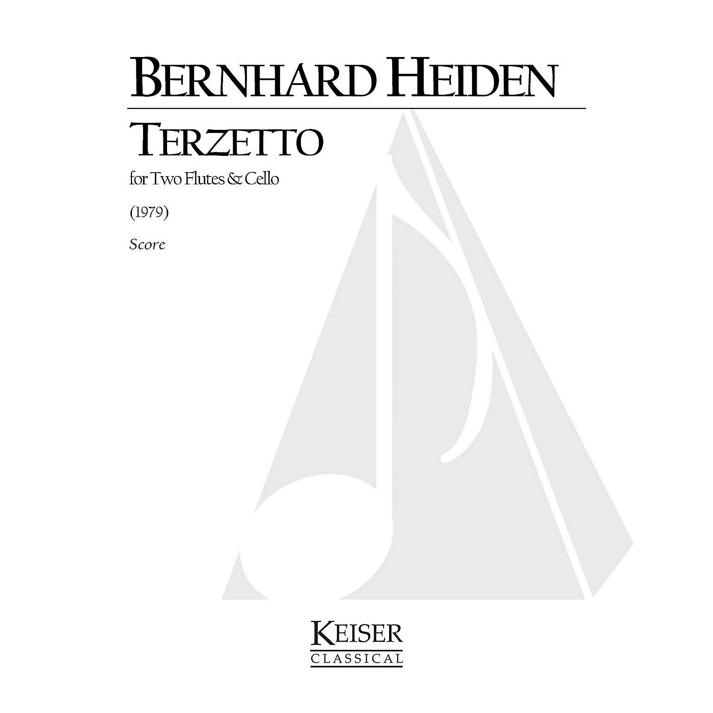 Lauren Keiser Music Publishing Terzetto (for 2 Flutes and Cello) LKM Music Series Composed by Bernhard Heiden thumbnail