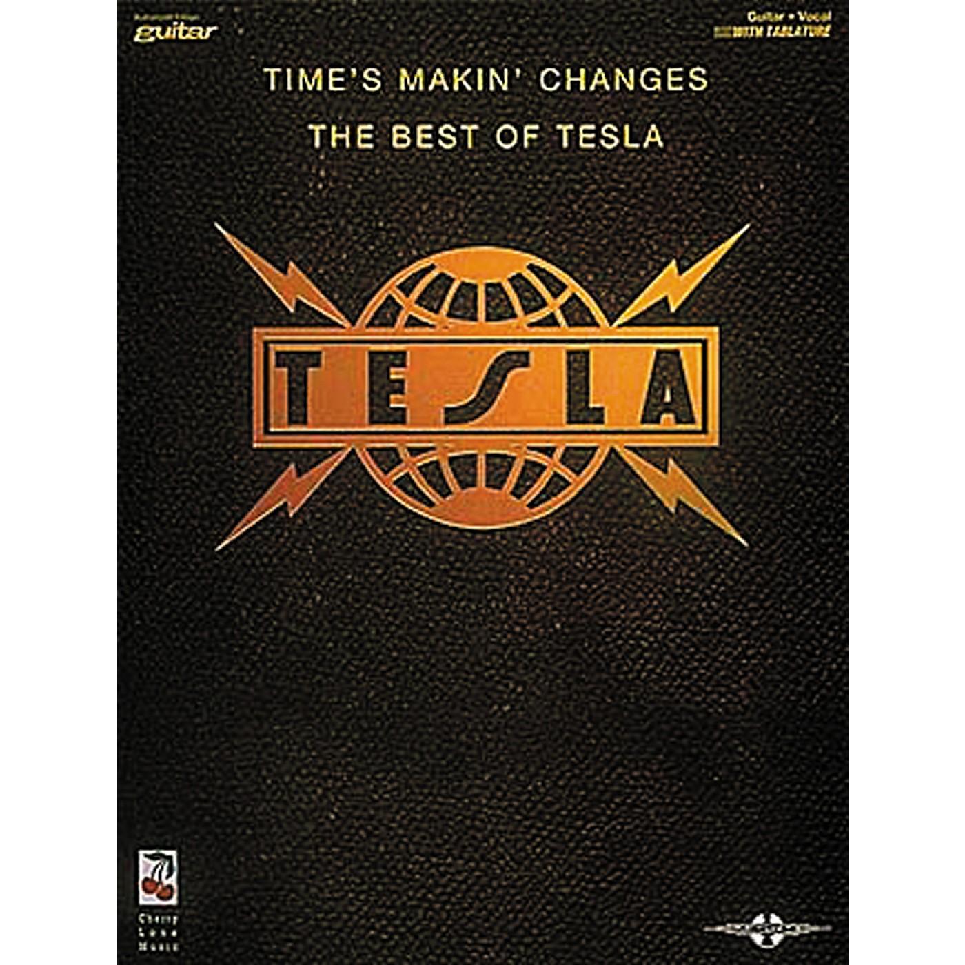 Hal Leonard Tesla - Times Makin' Changes Book thumbnail