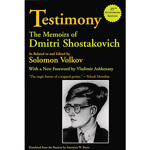 Limelight Editions Testimony (The Memoirs of Dmitri Shostakovich) Limelight Series Softcover thumbnail