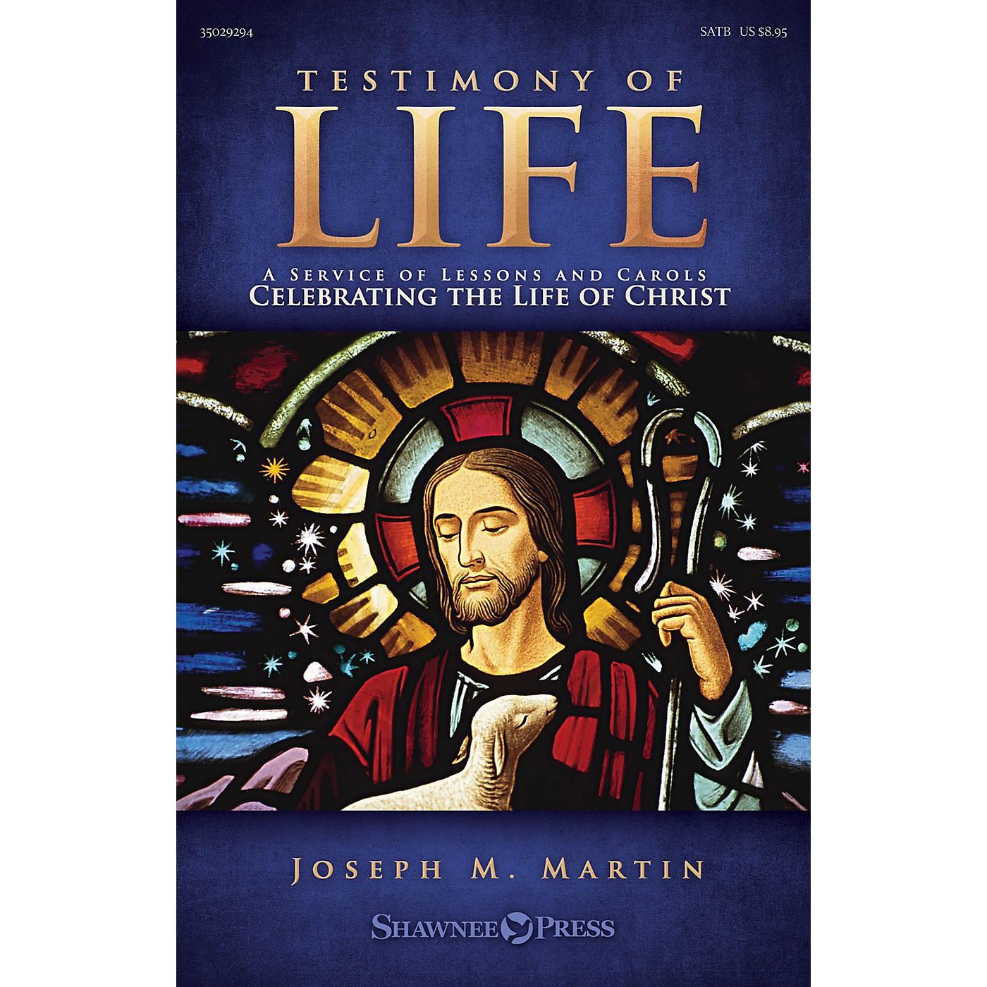 Shawnee Press Testimony of Life Studiotrax CD Composed by Joseph M. Martin thumbnail