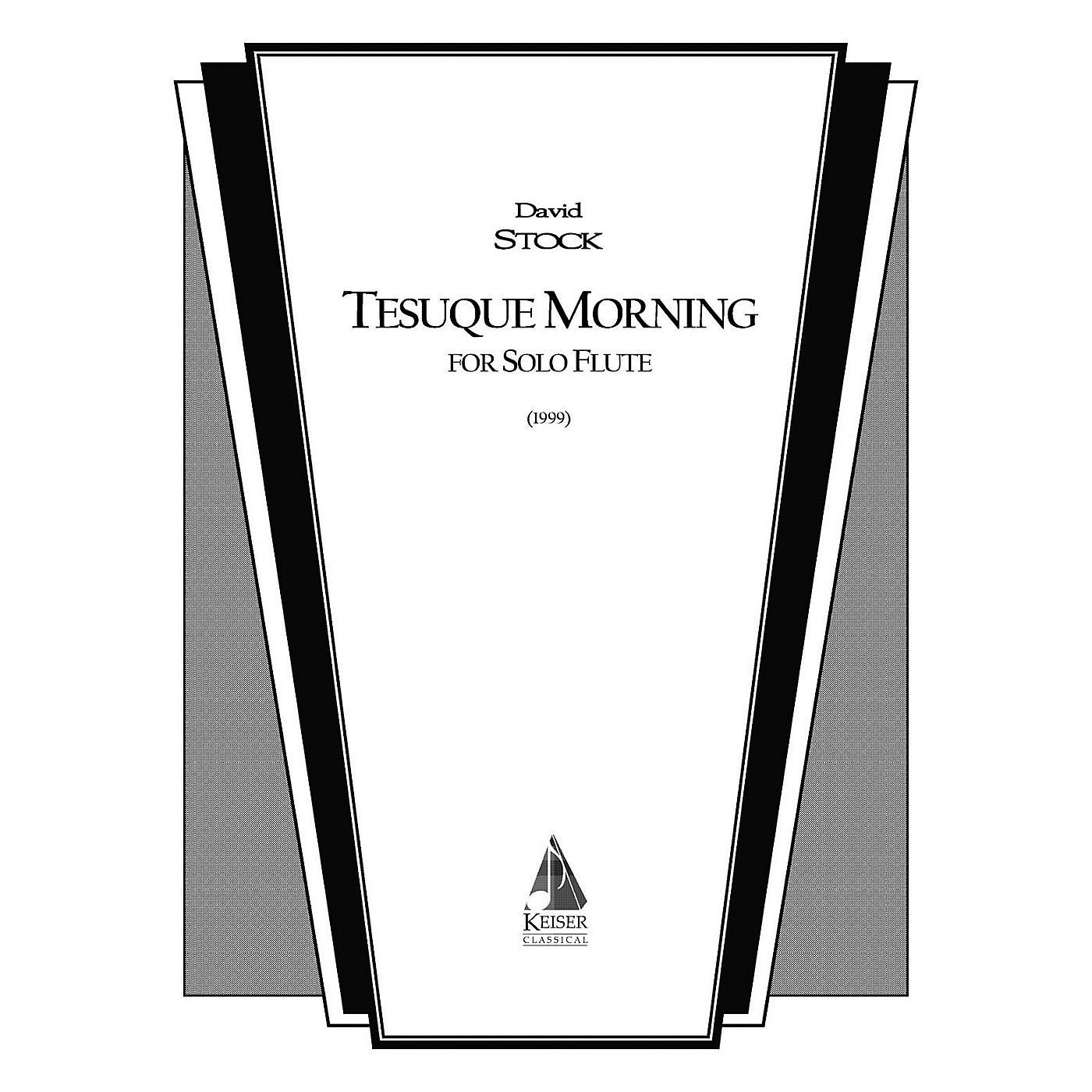 Lauren Keiser Music Publishing Tesuque Morning (Flute Solo) LKM Music Series Composed by David Stock thumbnail