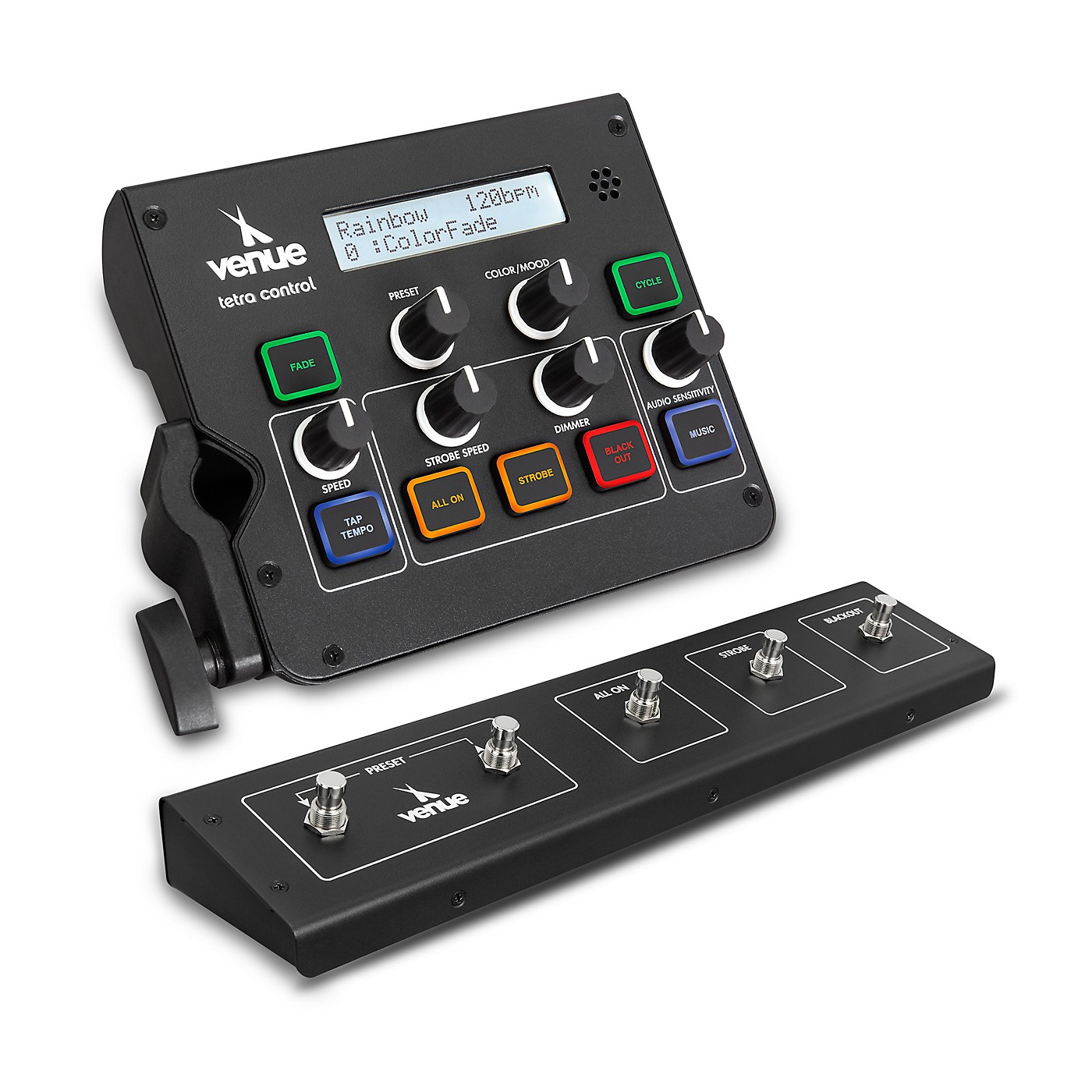 Venue Tetra Control Intuitive DMX Controller and Footswitch thumbnail