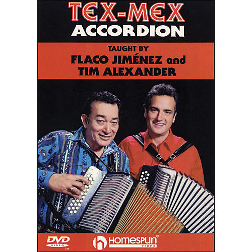 Homespun Tex-Mex Accordion (DVD) thumbnail