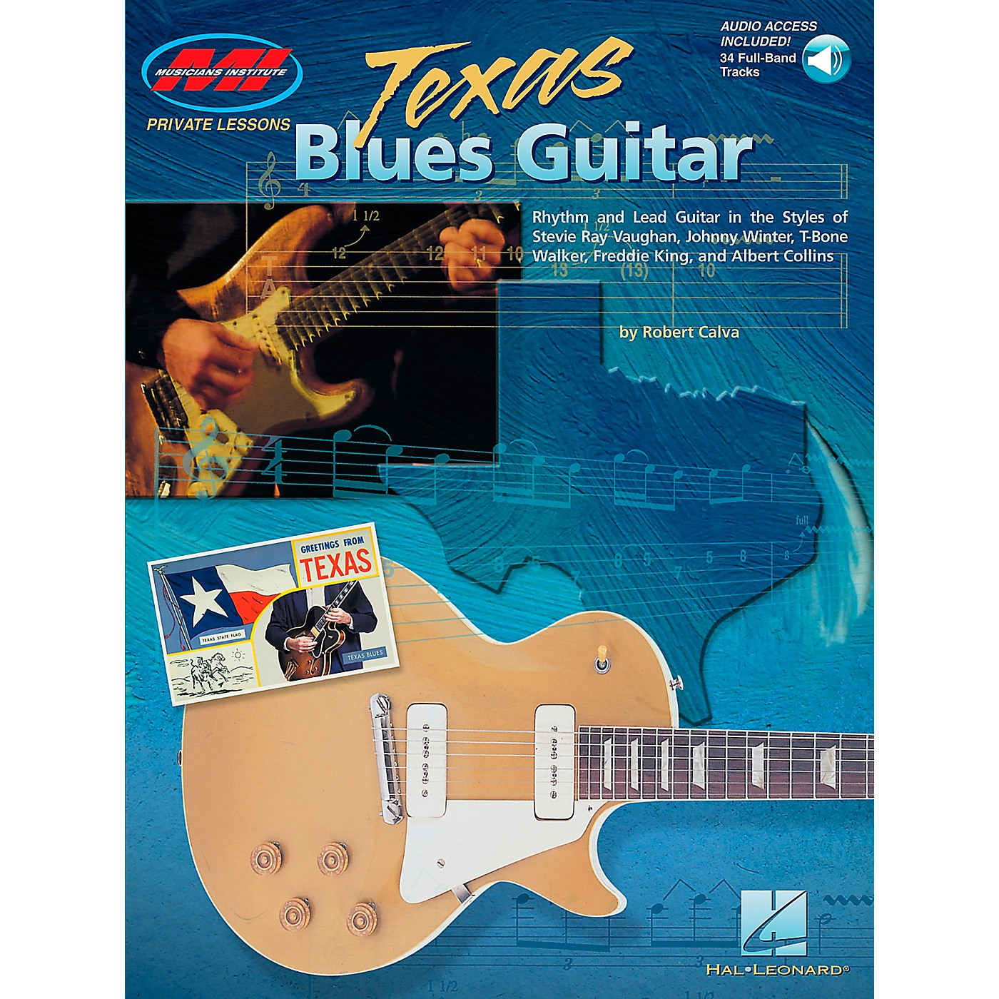 Hal Leonard Texas Blues Guitar Book/Online Audio thumbnail