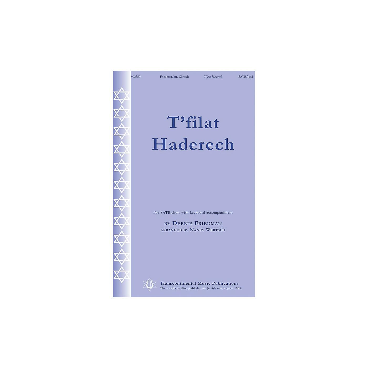 Transcontinental Music T'filat Haderech SATB arranged by Nancy Wetsch thumbnail