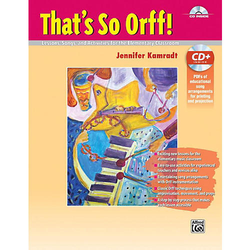 Alfred That's So Orff!  Book & Data CD thumbnail