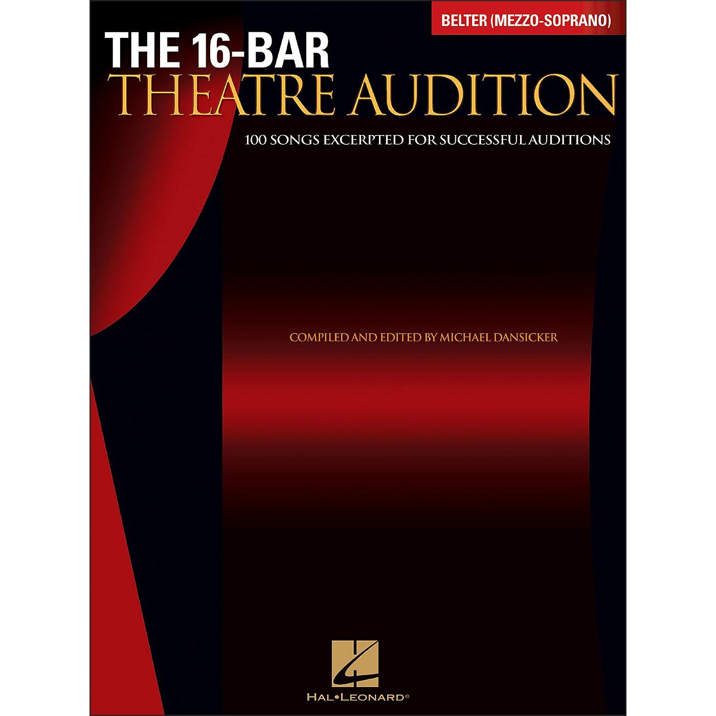 Hal Leonard The 16-Bar Theatre Audition Belter (Mezzo Soprano) thumbnail
