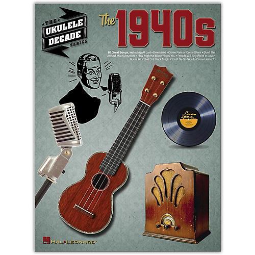 Hal Leonard The 1940s (The Ukulele Decade Series) Ukulele Songbook thumbnail