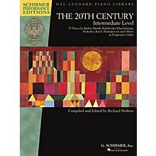 G. Schirmer The 20th Century - Intermediate Level Schirmer Performance Editions Softcover