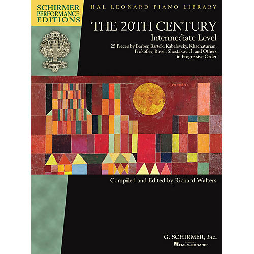G. Schirmer The 20th Century - Intermediate Level Schirmer Performance Editions Softcover thumbnail