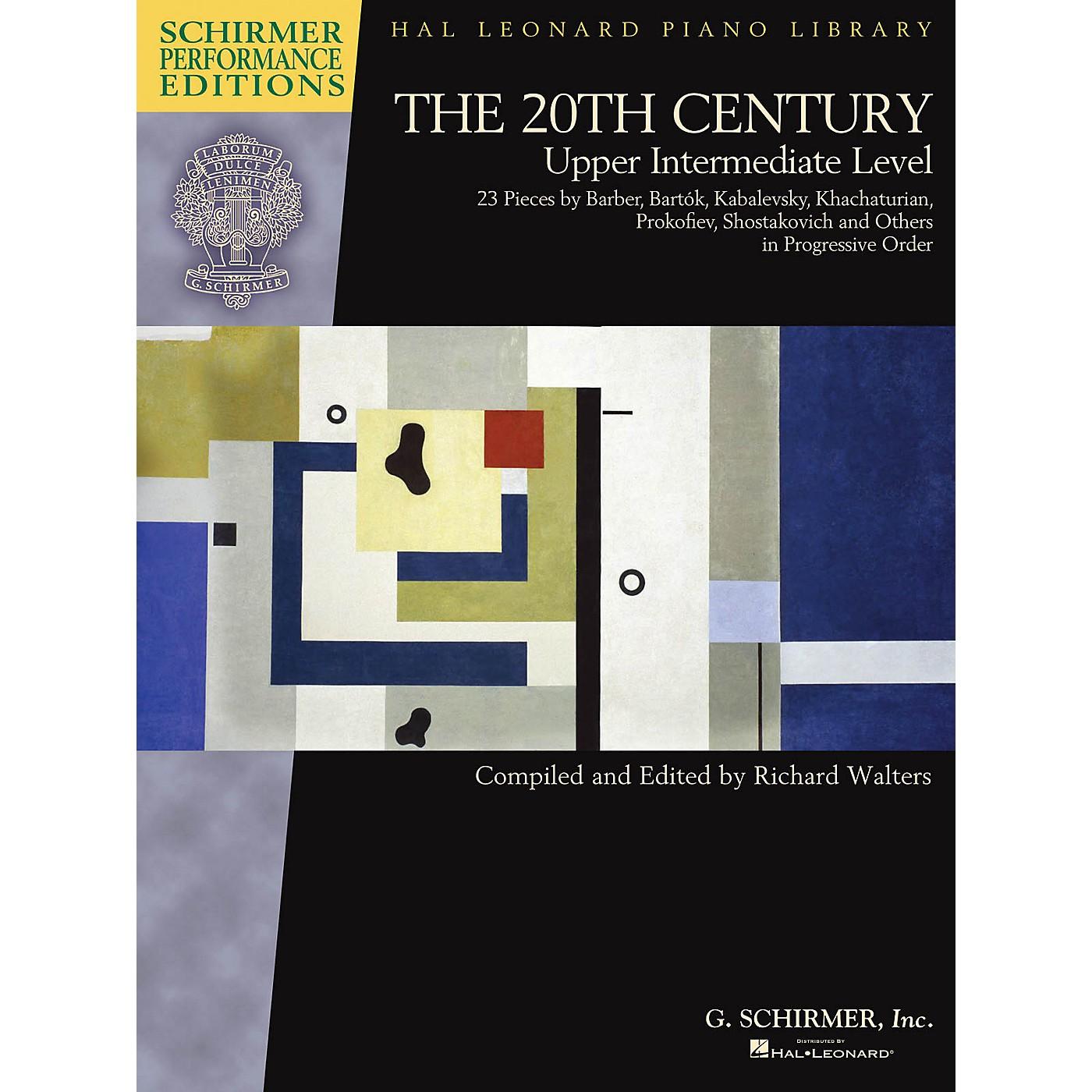 G. Schirmer The 20th Century - Upper Intermediate Level Schirmer Performance Editions Softcover thumbnail