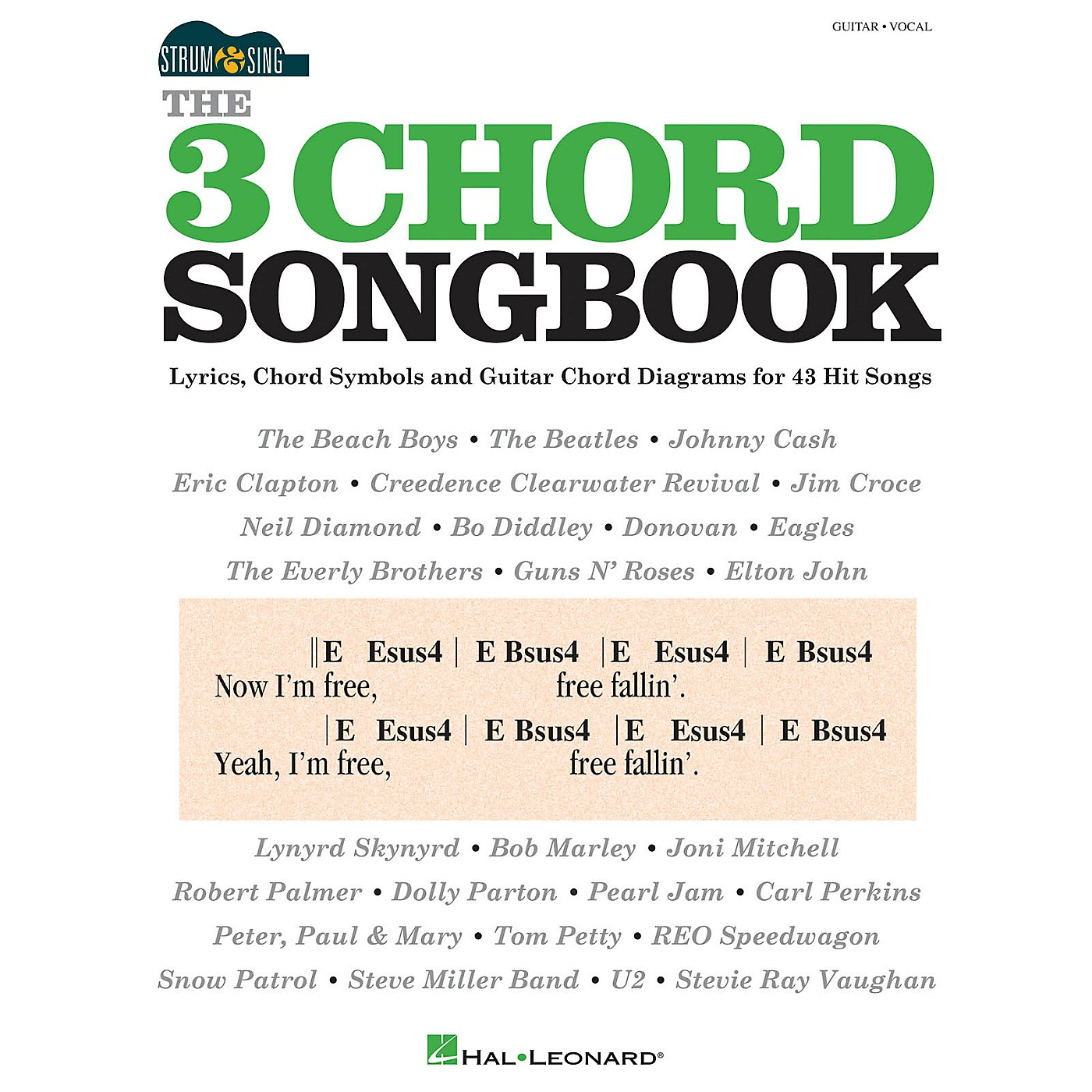 Hal Leonard The 3 Chord Songbook - Strum & Sing Series thumbnail