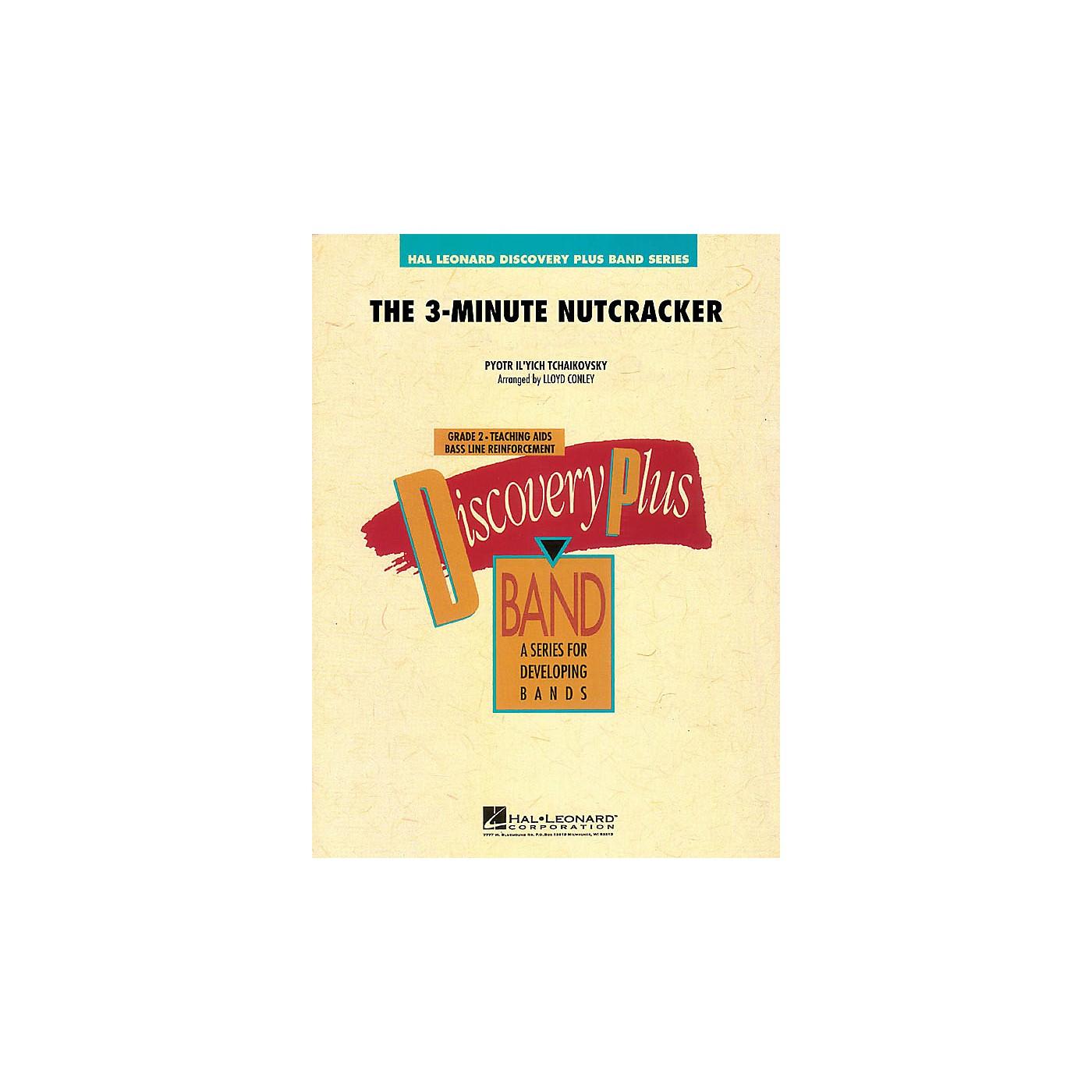 Hal Leonard The 3-Minute Nutcracker - Discovery Plus Band Level 2 arranged by Lloyd Conley thumbnail