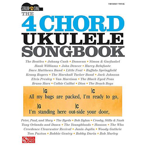 Cherry Lane The 4 Chord Ukulele Songbook  Strum & Sing Series thumbnail