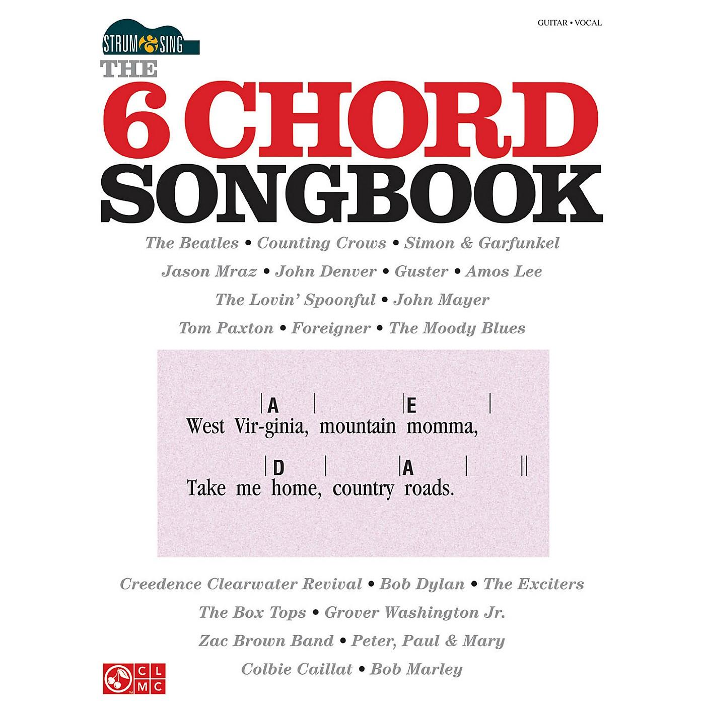 Hal Leonard The 6 Chord Songbook Strum & Sing Series thumbnail
