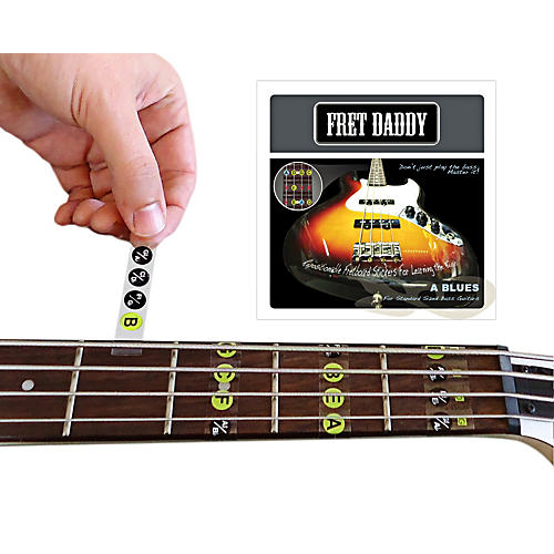 Fret Daddy The A Blues Scale for Bass Guitar thumbnail