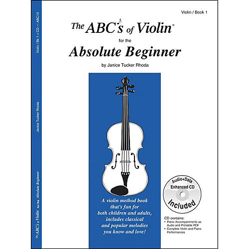 Carl Fischer The ABC's Of Violin For The Absolute Beginner - Book/Online Audio thumbnail