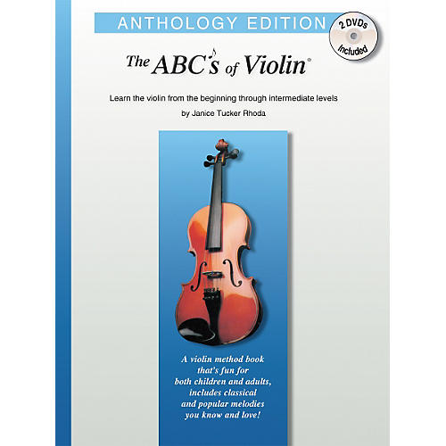 Carl Fischer The Abcs Of Violin - Anthology Edition Book/DVD thumbnail