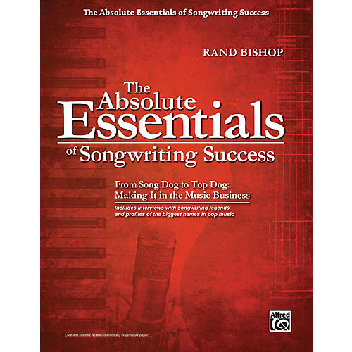 Alfred The Absolute Essentials of Songwriting Success Book-thumbnail